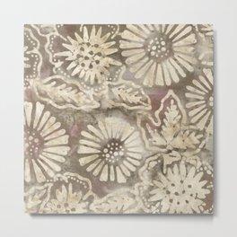 Coconut Batik 05 Metal Print