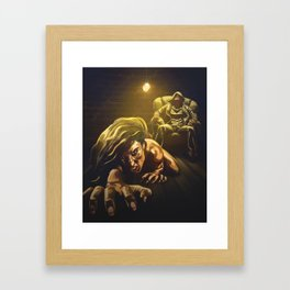 Reclaim your history Framed Art Print