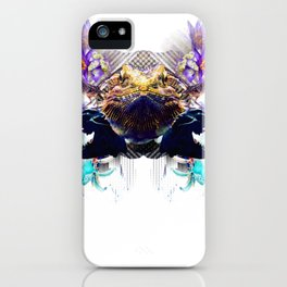 Condescending Bearded Dragon Discovers Masterful Judges After Midnight iPhone Case