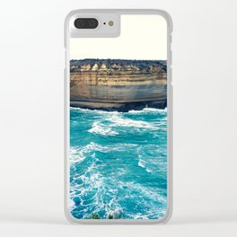 Rock Formation Clear iPhone Case