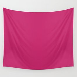Fuchsia Ultra Pink Wall Decor,  Room Decor, Vanity Wall Art, Bathroom, Gift for Her Wall Tapestry