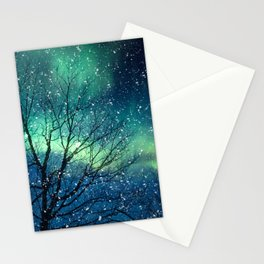 Aurora Borealis Northern Lights Stationery Cards