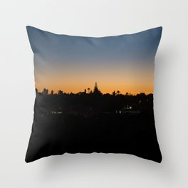 Sunset Portugal Throw Pillow