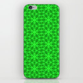 Greenery Kaleidoscope 8075 iPhone Skin