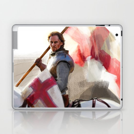 """Once More unto the Breach"" Laptop & iPad Skin"