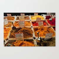 spice Canvas Prints featuring Spice by Samara