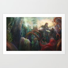 Crossed Genres Art Print