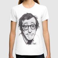 woody allen T-shirts featuring Woody Allen by Paul Nelson-Esch Art