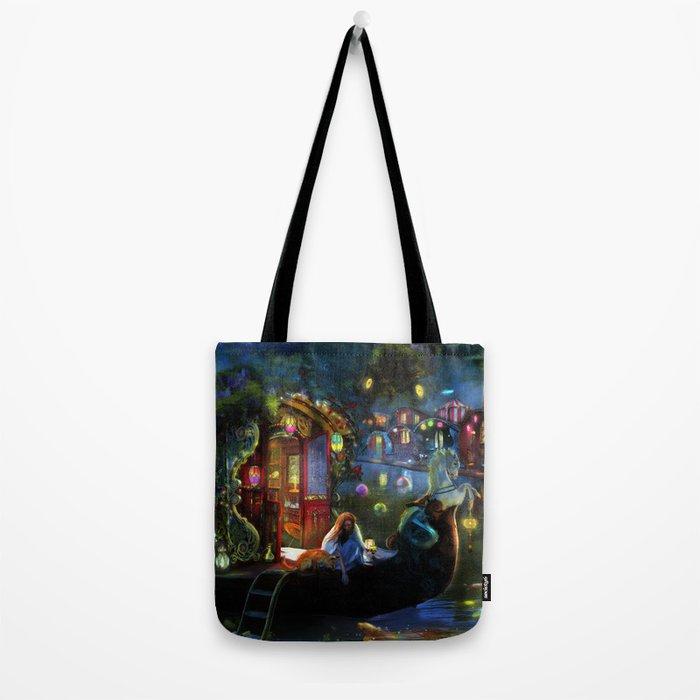 Wanderer's Cove Tote Bag