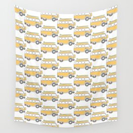 The Surf Life | Yellow Adventure Bus Wall Tapestry