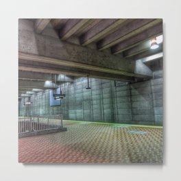 Subway terminal Metal Print