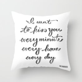 I Believe in a Thing Called Love Throw Pillow