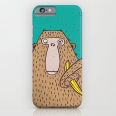 Monkey with banana. Slim Case iPhone 6s