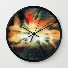 Void Concentrate Wall Clock