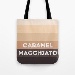 Caramel macchiato Tote Bag