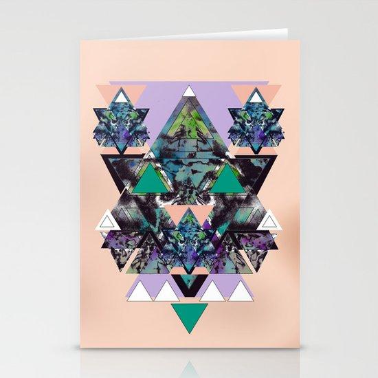 GEOMETRIC MYSTIC CREATURE Stationery Cards