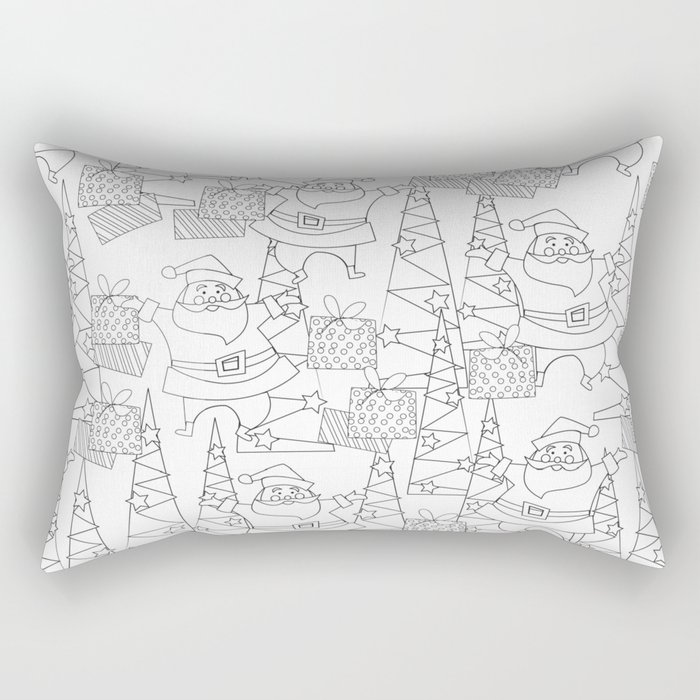 Jingle Jangle Coloring Book Rectangular Pillow By Christinelynnjohansen Society6