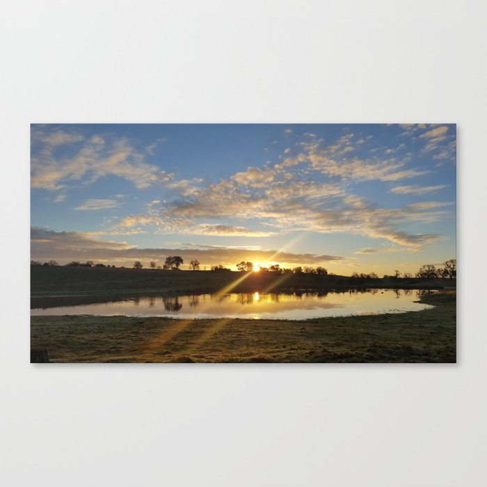 Inbetween Country and Paradise Canvas Print