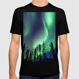 Northern Lights in Yellowknife T-shirt