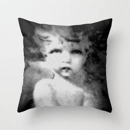 Angel Child Gothic Throw Pillow