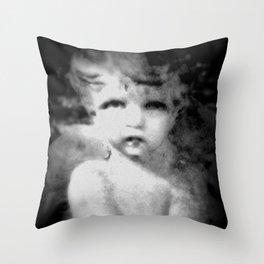 Angel Child Gothic Throw Pillow