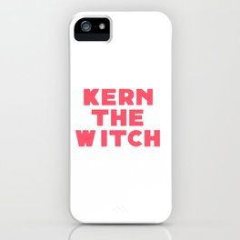 Kern the Witch iPhone Case