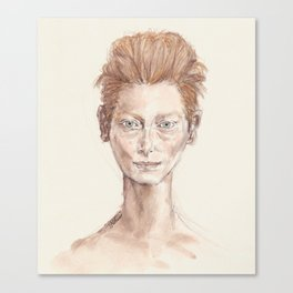 Tilda Swinton Inspiration Canvas Print