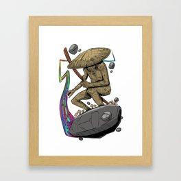 Trail Blazer Framed Art Print