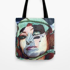 ELISA_GLITCH_IN THE SKY MIT MELANCHOLIE_ Tote Bag