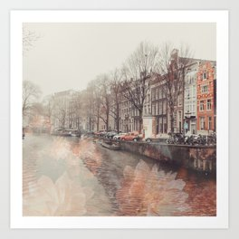 Flowers in Amsterdam ll Art Print