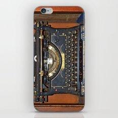 Typewriter2 iPhone & iPod Skin