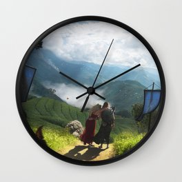 Exodus IV: Nowhere Else To Go Wall Clock