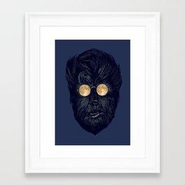 Moonglasses  Framed Art Print