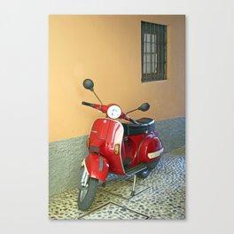 Vespa Canvas Print