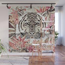 TIGER - WILD THING JUNGLE Wall Mural
