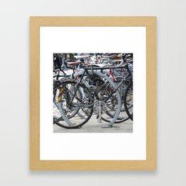 Spoke Too Soon Framed Art Print