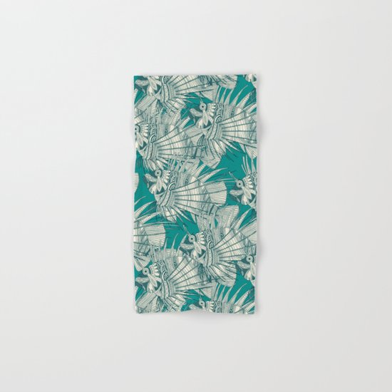 fish mirage teal Hand & Bath Towel