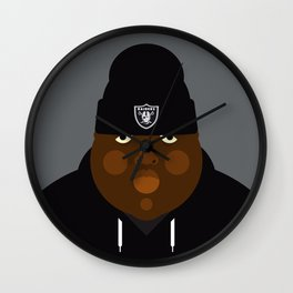 Notorious I Wall Clock