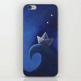 Paper Sailing iPhone Skin