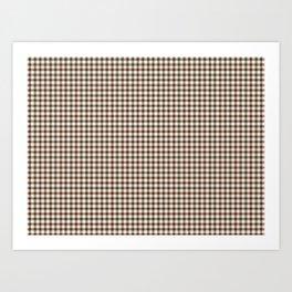 Stewart Tartan Art Print
