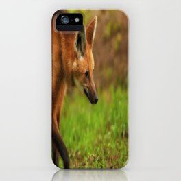 Wolf Strut iPhone Case