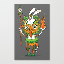 The Hoodoo Man Canvas Print