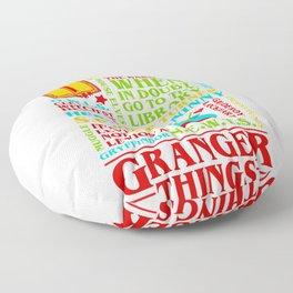 Granger Things Floor Pillow