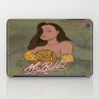 "lebron iPad Cases featuring ""Ms. Rabbit""  by SaintCastro"