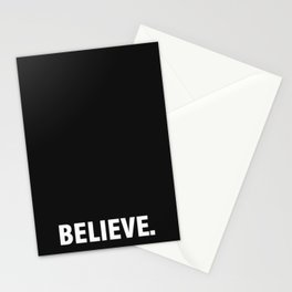 BELIEVE. Stationery Cards