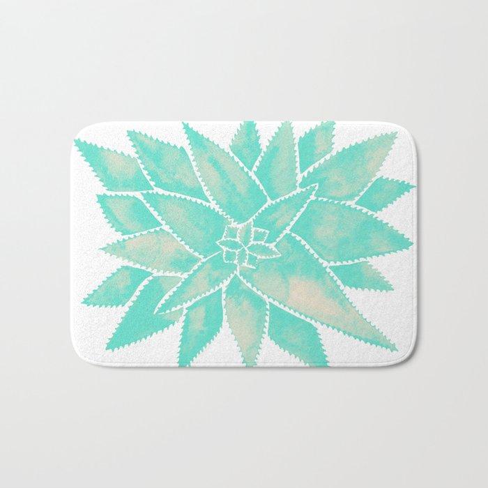 Aloe Vera – Mint Palette Bath Mat
