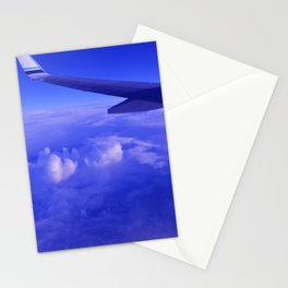 Aerial Blue Hues II Stationery Cards