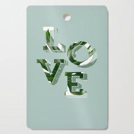 Love plants Cutting Board