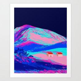 Nextdoor Art Print