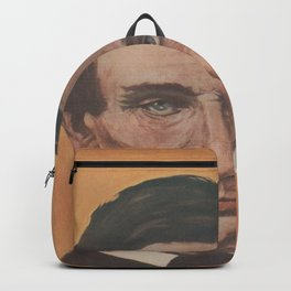 Vintage Portrait of Abraham Lincoln (1895) Backpack